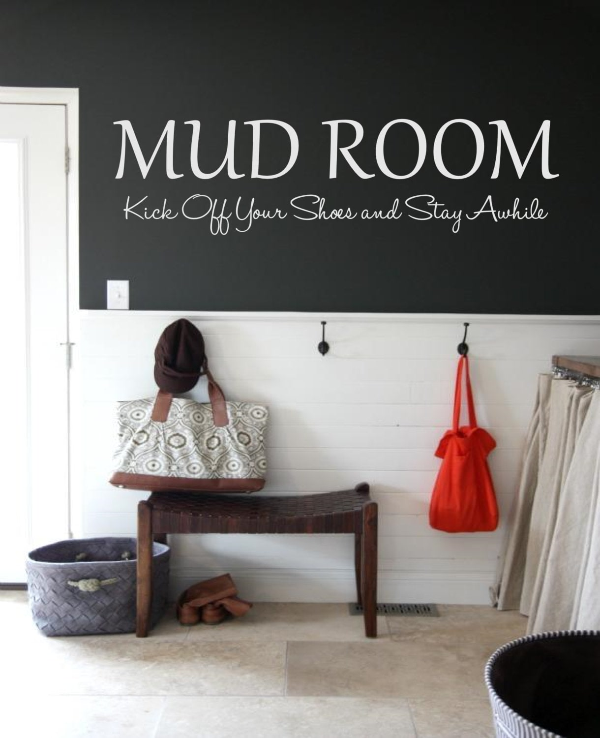 Mud Room Wall Decor : Mud room kick off your shoes and stay awhile wall