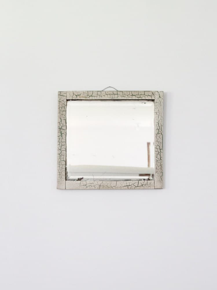 antique beveled mirror wood frame mirror