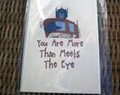 Transformers More Than Meets The Eye Card