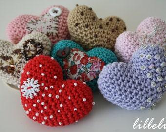 Free Crochet Patterns For Japanese Dolls : Popular items for amigurumi heart on Etsy