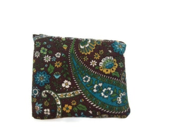 "Small hot cold pack heat pack in ""paisley infusion"""