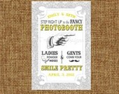 the ORIGINAL custom fancy photo booth sign: printable photobooth sign