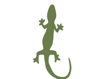 Lizard Jungle Stencil for Painting Kids or Baby Room Mural  (SKU171-istencil)