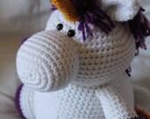 Ursula the Unicorn - Amigurumi Plush Crochet PATTERN ONLY (PDF)