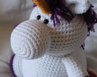 Ursula the Unicorn - Amigurumi Plush Crochet PATTERN ONLY (PDF)