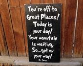 Dr. Seuss Great Places Sign