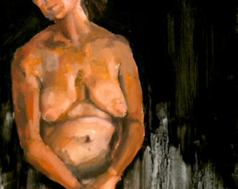 "Original Oil Painting ""Jean"" 8x10, NOT a Print"