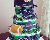 Notre Dame Custom Diaper Cake