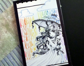 Rain Color on Me - Large Journal