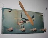 Airplane propeller, wing walker Coat Hanger