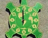 The World Turtle wall clock
