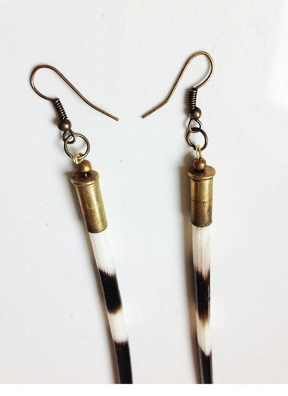 Porcupine Quill Jewelry African Porcupine Quil...