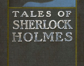 Tales of Sherlock Holmes Cover Art  - Giclee Print Reproduction.