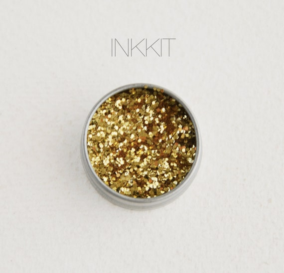 gold glitter (1/2 oz)