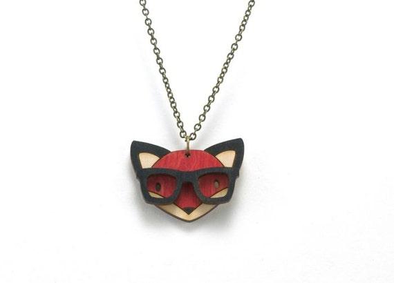 Nerd Fox Necklace £13.62