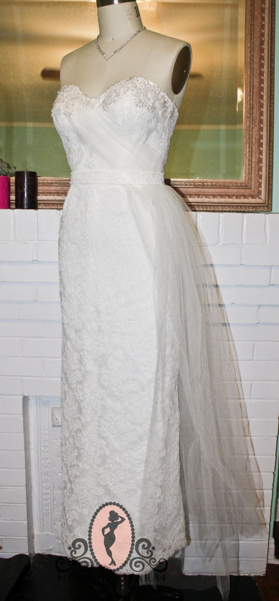 Marilyn Monroe Inspired Wedding Dress Wedding Gown 1950s