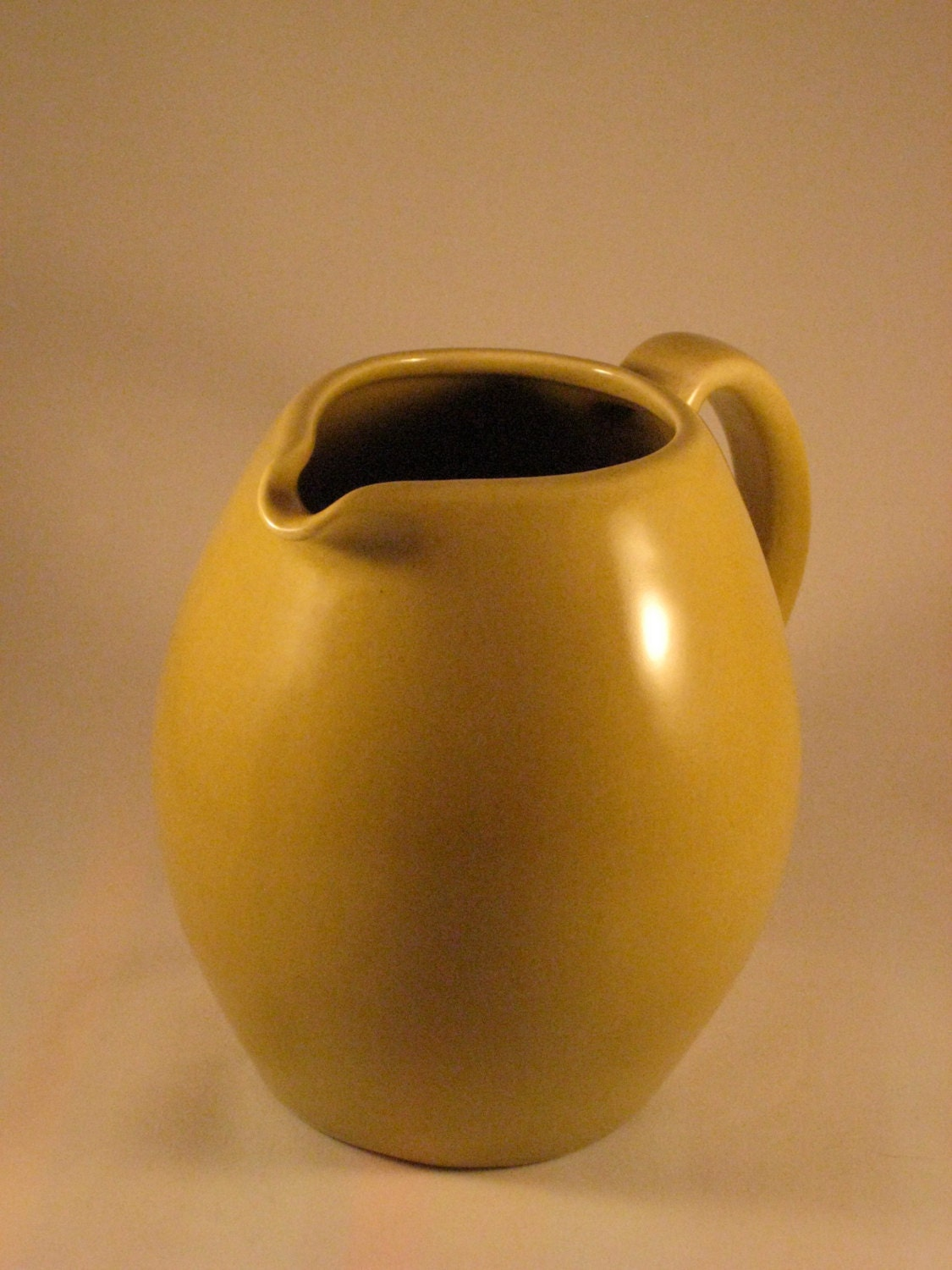 Russel wright iroquois casual china avocado pitcher - Russel wright pitcher ...
