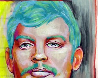 portrait of serial killer jeffrey dahmer, DIGITAL DOWNLOAD