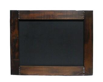 "Large Chalkboard // 25"" x 32"" // Reclaimed Wood Rustic Framed Chalkboard // Wedding Sign Home Decor // Eco-Friendly Driftwood Furniture Gift"