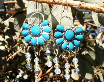 Southwestern Chandelier Earrings