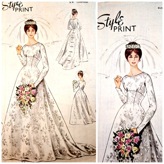 vintage wedding dress sewing patterns Above-board Mountain