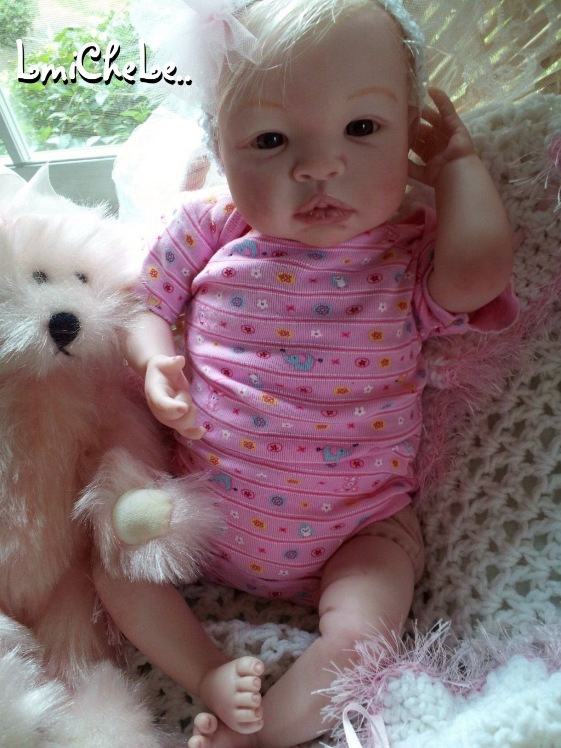 From The Shyann Kit Reborn Baby Doll 19 Inch Baby Girl Kelly