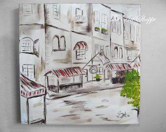 Streets of Savannah-Painting 20x20