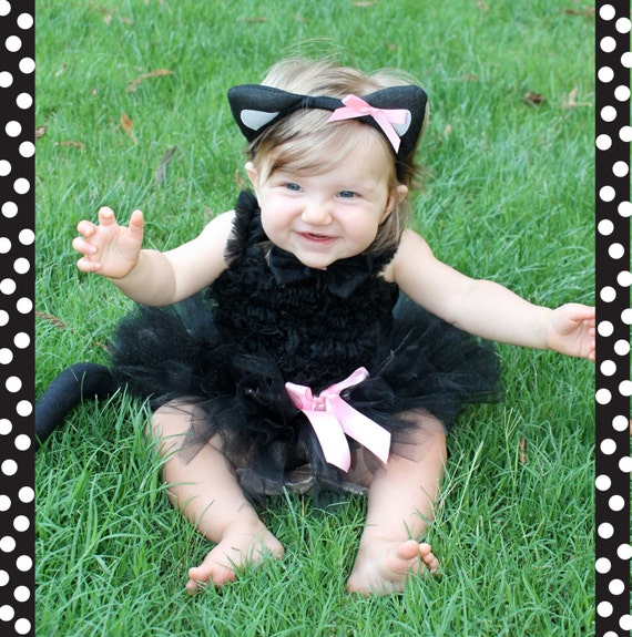 Baby Halloween Cat Costumes Black Cat Costume Tutu Baby