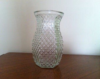Vintage Hoosier Hob Nob Glass Vase 4071