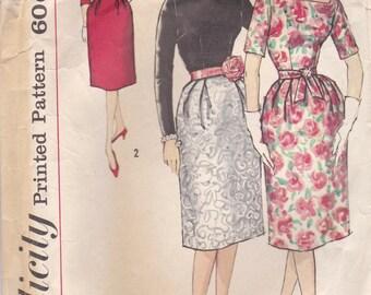 Pretty 1950s Dress Pattern Simplicity 3269 Size 14