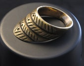 Extremely Large Ancient Authentic Roman Brass/Bronze/Alloy Archers Ring - Restored by Professional Jeweler