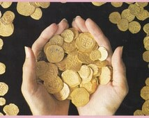 "Ca. 1989 ""Gold Doubloons"" in Key West, Fla Topographical Picture Post Card - 1216"