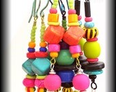 EAR BAUBLES, Fun Artist Earrings, Colourful, Comfortable, Australian Made