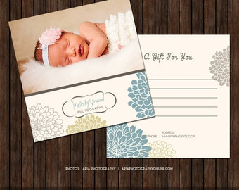 5x5 Photography Gift Certificate - MK3A