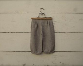 Sepia tan knickers Size 1-3yrs. or 4-6yrs, little boy knickers, ringbearer knicker pants, wedding clothing