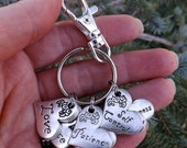 Fruit of the Spirit Christian Keychain, Galatians 5 Scripture Verses, Christian Gift for Women, Bridesmaid Gift, Valentines Day Gift for Her
