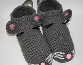 Mens Slippers - Mens House Slippers - House Shoes for Men - Unisex Slippers - Animal Slippers - Handmade Slippers - Mens House Shoes