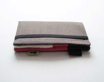 Samsung Galaxy wallet, iphone 6 wallet, cell wristlet, iphone 5 wallet woman, linen wallet, Clutch Phone Wallet smartphone  TLC Pouches