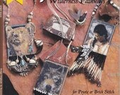 Rare Bead Weaving Book: Spirit Bags - Wilderness Pathways for Peyote or Brick Stitch - Deb Bergs - Patterns and Designs