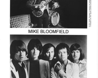 MIke Bloomfield and The Hollies Promotional Photo 8 by 10 Inches