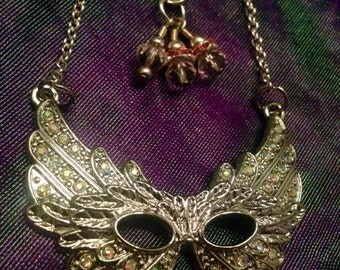 Masquerade Crystal Necklace