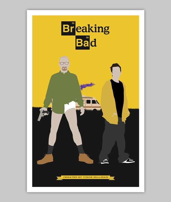breaking bad poster. Black Bedroom Furniture Sets. Home Design Ideas