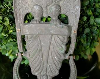 Vintage Large Brass Door Knocker American Eagle