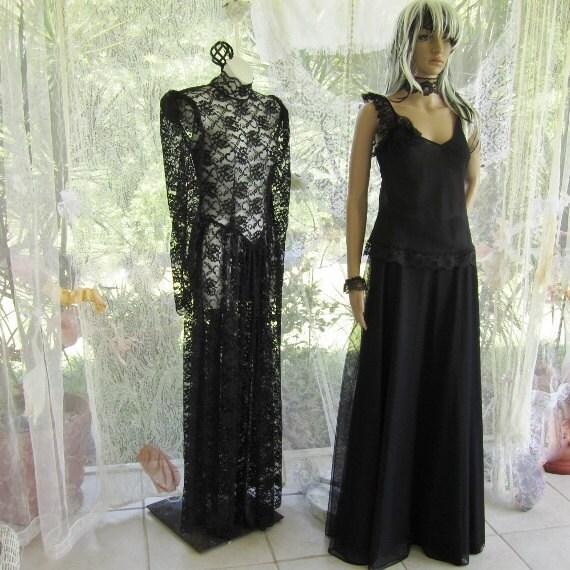 black evening skirt light satin lining fabric and soft