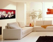 16X40'', Large Original painting, Unique Wall art, Modern art, Abstract Oil Painting, Stretched Canvas - Idle Talk