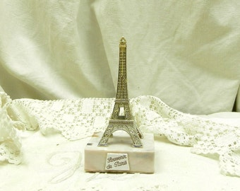 Small Vintage Tour Eiffel / Eiffel Tower / Souvenir of Paris / French Decor  / Parisian Decor / Holiday / Romantic / French Country / Home