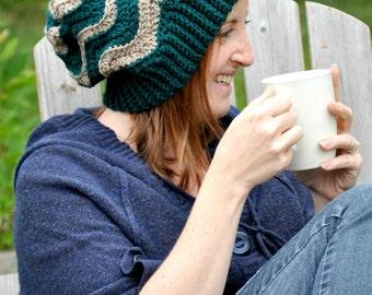 Chevron Slouch Crochet PATTERN pdf