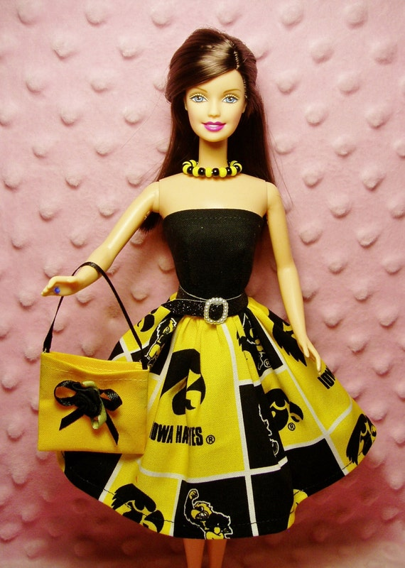 Items Similar To Mydolloutfit Clothes Iowa Hawkeyes