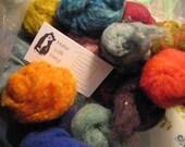 Needle Felt Kit Expansion Set 3 oz Wool Roving Felting Fiber 20 different colors by Make Life Cozy