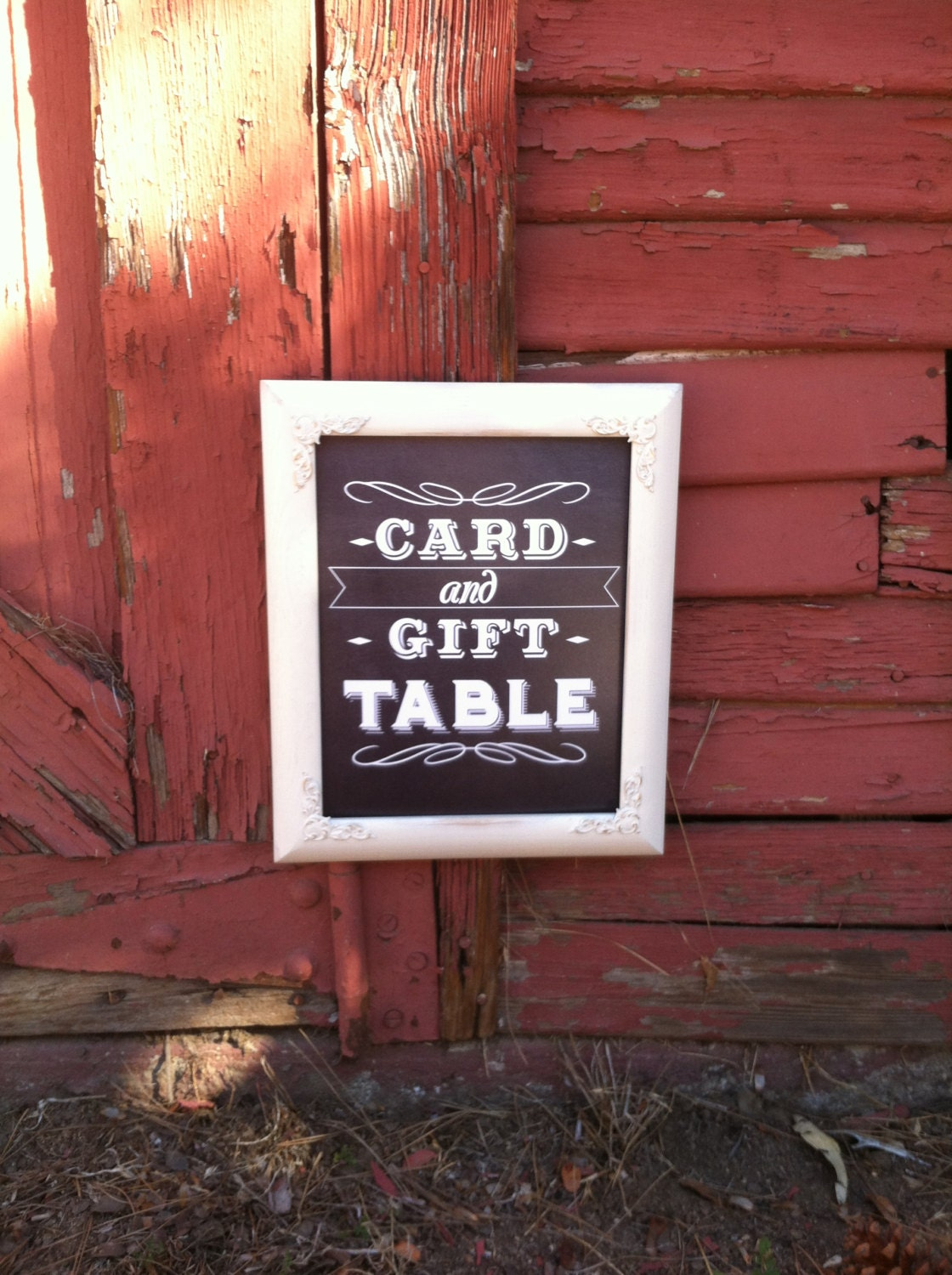 Wedding Gift Card Table : Wedding Sign 8x10 Card & Gift Table Rustic by ThePaintedLdy
